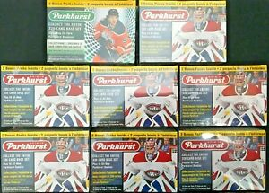 2018-19 & 2019-20 Parkhurst Upper Deck Hockey Lot of 8 Boxes/All Factory Sealed