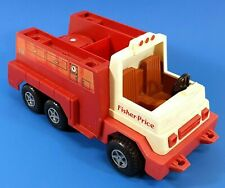 1983 Vintage Fisher Price Husky Feu Moteur Camion 650AA