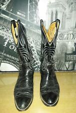 Men all black with designs western Nocona boots