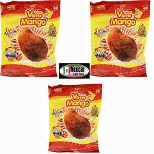 3-PACK VERO MANGO LOLLIPOP W/CHILLI MEXICAN CANDY 120 LOLLIPOPS TOTAL