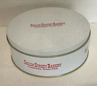 Vintage Collin Street Bakery Tin Can Corsicana Texas USA