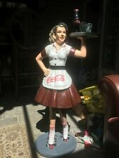 Coca Cola 50's Waitress on Roller Skates