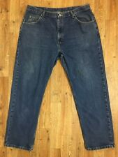 Wrangler Men's Relaxed Fit  #9760WDR Medium Wash Jeans! Wallet Mark. Size 40x32
