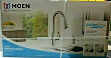 Moen Essie Touchless Sprayer Kitchen Faucet Spot Resist Stainless 87014EWSRS NEW