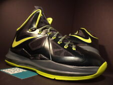 2012 Nike Air Max LEBRON X 10 DUNKMAN SEAWEED ATOMIC GREEN HASTA 541100-300 DS 9