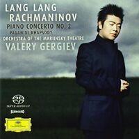 Lang Lang - Rachmaninov Piano Concerto No2 Rhapsody on a Theme of Paganini [CD]