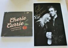 Cherie Currie Reverie CD + Signed Lyric Book 10 Tracks 2015 New the Runaways