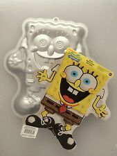 Spongebob Square Pants Excited Cake Baking Tin Childrens Birthday Party Wilton