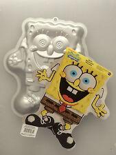 Wilton Spongebob Squarepants Cake Baking Pan Tin Kids Birthday Party Aluminium