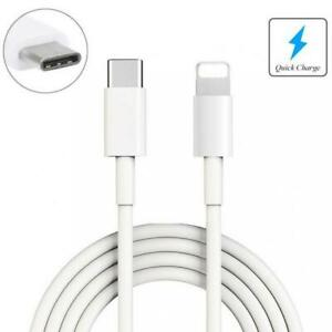 For iPHONE 11 12 13 Pro Max 6FT LONG USB-C USB CABLE FAST CHARGE POWER CORD WIRE