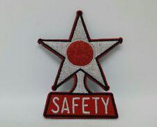 36 37 38 39 40 42 48 49 51 52 53 54 Chevy Safety Star Patch  hat jacket vest
