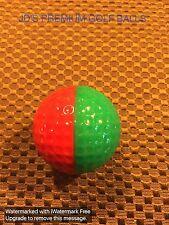 PING GOLF BALL-DARK GREEN/RED PING PROMOTIONAL.....NO LOGO...8.9/10...