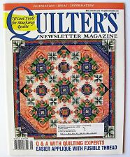 Quilter's Newsletter Magazine May 2006 No. 382 Quilt Quilting