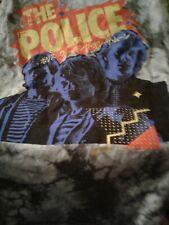 The Police-Japanese Writing Tee-Shirt-Large-Usa! -:).