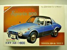 Nichimo Vintage 1:24 Scale Toyota Sports 800 Model Kit New - Rare - Motorisable