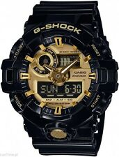 NEW* CASIO MENS G SHOCK BLACK GOLD 3D DIAL WATCH OVERSIZE XL GA710GB-1A RRP£169