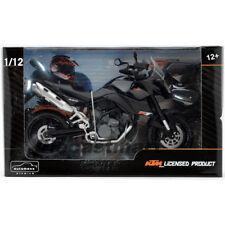 Automaxx 601702 1:12 KTM 990 Sm-T Miniature Double Sport Moto Touring Noir