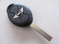 Mini Schlüssel Gehäuse Fernbedienung Emblem Rohling Logo One Cooper Cabrio 3 T