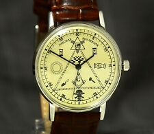 Watch no Reserve Auction Masonic Watch Auction Old Watch Man Auction Vintage