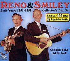 Don Reno, Reno & Smi - Early Years 1951-1959 [New CD] Boxed Set