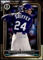 Ken Griffey Jr. 2020 Topps Tribute 5x7 Gold #82 /10 Mariners
