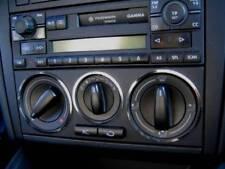 D VW Passat B5 Chrom Ringe für Gebläseschalter - Edelstahl poliert 3 Ringe