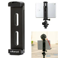Ulanzi Tripod Mount Adapter Clamp Holder Quick Release Cold Shoe Mount for iPad