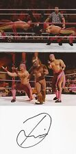 Wwe Wrestling: Diego Signed 6x4 Whitecard+2 Unsigned Photos+Coa *Los Matadores*