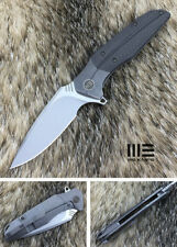We Knife 707B Cpm S35Vn Steel Titanium Carbon Fiber Handle Flipper