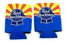 2 Pbr Pabst Blue Ribbon Beer Koozie Cooler Limited Edition Arizona Az Flag Lot