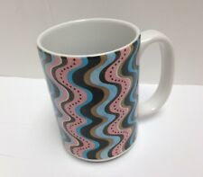Tree-Free Greetings Funky Waves Debbie Mumm 15 oz Ceramic Mug w Full-Size Handle