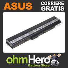 Batteria POTENZIATA 5200mAh Asus  K52F-SX416V, K52J, K52JB, K52JC, K52JC-B1,
