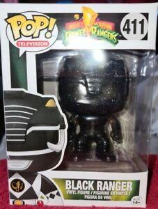 "POP! TV #411 ""POWER RANGERS: BLACK RANGER (MORPHING)"" VINYL COLLECTIBLE (FUNKO)"