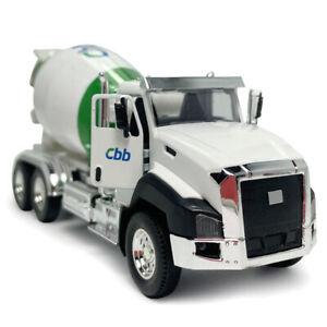 1:50 Scale Cement Mixer Model Concrete Truck Diecast Construction Vehicle Toy
