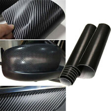 20cmX152cm Waterproof Thicken 4D Carbon Fiber Vinyl Wrap Roll Film Sticker Hot