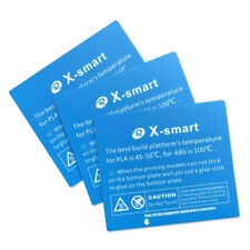 Platform Sticker for QIDI TECH X-smart 3D Printer: 3 pcs kit