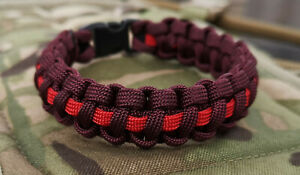 The Parachute Regiment 1PARA 2PARA 3PARA 4PARA UK handmade paracord bracelet