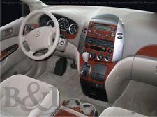 Dash Trim Kit for TOYOTA SIENNA 04 05 06 07 08 09 10 carbon fiber wood aluminum
