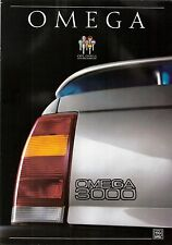 Prospetto/brochure OPEL OMEGA 3000 03/1987