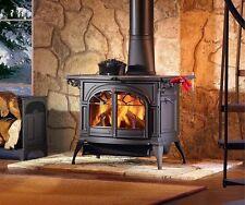 Vermont Castings Wood Stove Defiant Flex Burn Cast Iron  BLACK OPEN BOX- NEW