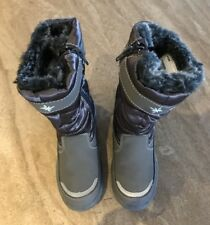 Little GIRLS SNOW BOOTS Size 12-13 AS NEW