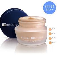 [KANEBO MEDIA] Liquid Moisture Cream Foundation SPF25 PA++ 25g JAPAN NEW