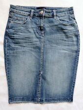 Knee Length Denim Straight, Pencil NEXT Skirts for Women