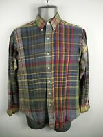 MENS RALPH LAUREN MULTICOLOURED BUTTON UP LONG SLEEVED CASUAL SHIRT SIZE S SMALL