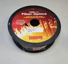 100m Reel of Thorlabs Multimode Fiber Optic Cable Bfl48-400