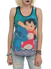 Disney Lilo & Stitch, Duo Hug Juniors XXL, 2XL Tank Top NEW! LICENSED! FREE SHIP