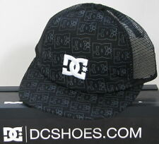 DC Shoes Hip Hop Basecap Trucker Cap Black Kappe Mütze verstellbar / 51300073