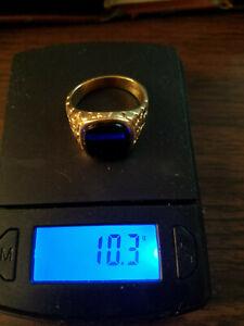 14 k. mens gold ring