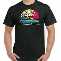 Golf Mk 1 T-Shirt Das Original Mens Inspired Fan Car Enthusiast Parts Top