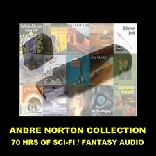 ANDRE NORTON COLLECTION. ENJOY 14 WORKS OF SCIENCE FICTION IN YOUR CAR OR HOME!